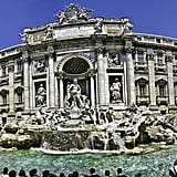 Throw a Coin in the Trevi Fountain in Rome and Make a Wish