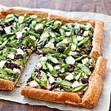 Get the recipe: asparagus goat cheese tart