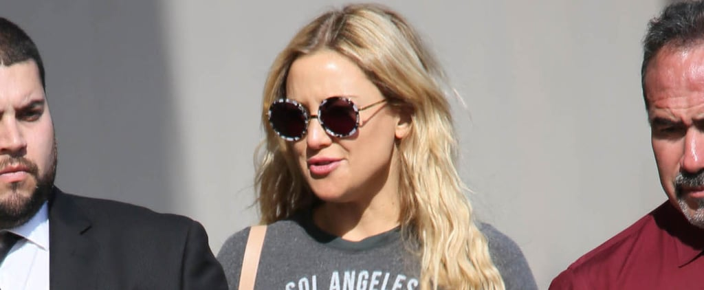 Kate Hudson Flashes Her Rock-Hard Abs During an Outing in LA