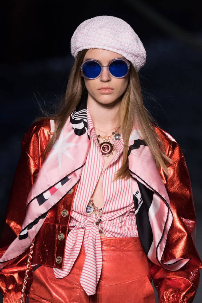 Of Course Even The Eyewear Followed The Cruise Theme Chanel