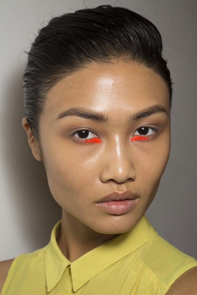 Wear Lipstick as Eye Shadow