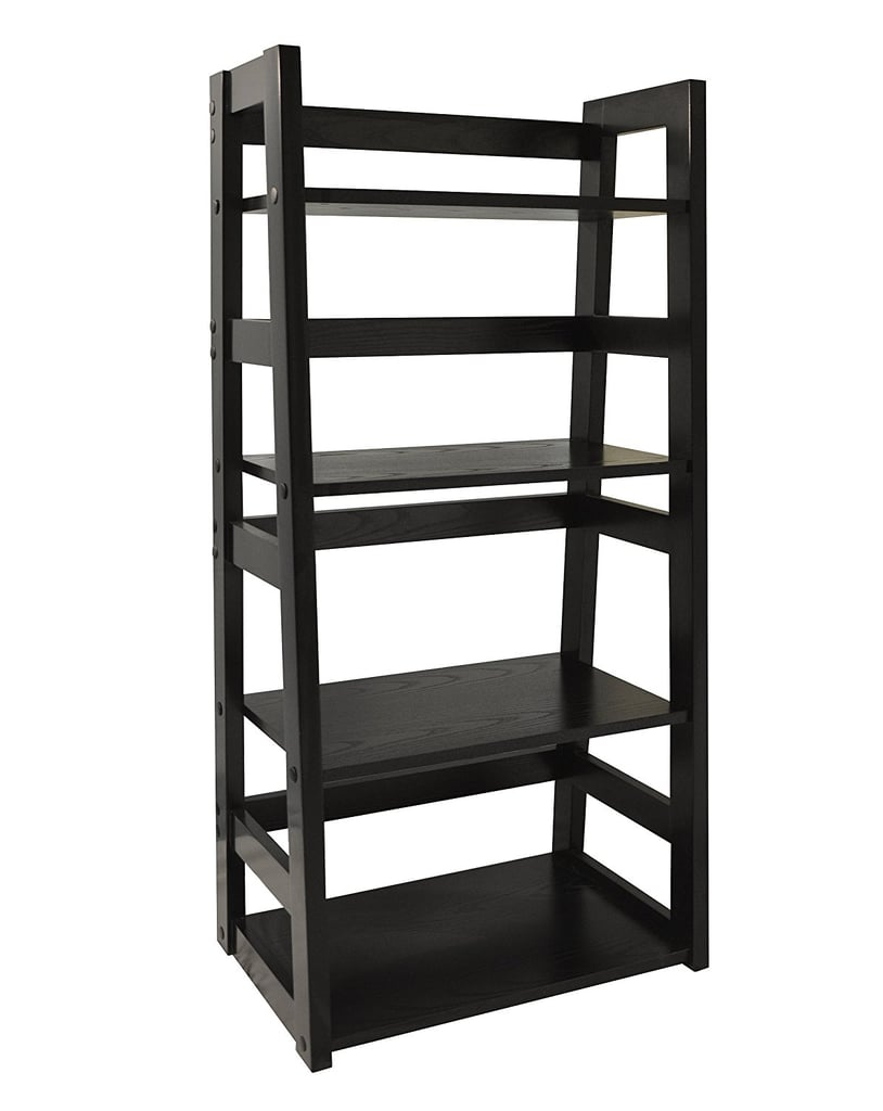 mid plans bookcase trestle bookshelf bookshelves sauder white ladder black bookcases shelf