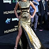 Jennifer Lawrence at the Hunger Games Premiere