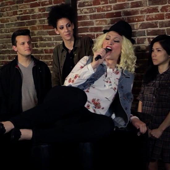 Melissa Villasenor's Christina Aguilera Impression