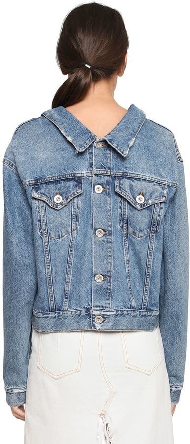 Unravel Deconstructed Denim Jacket