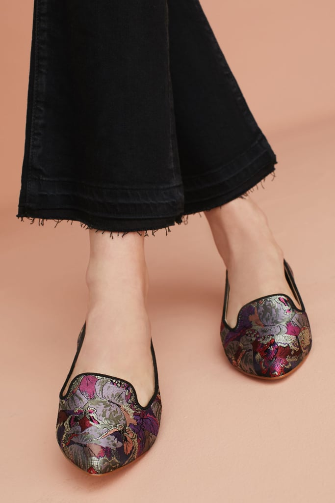 b42362d06f8 Anthropologie Butterfly Brocade Loafers | Brocade Shoes | POPSUGAR ...
