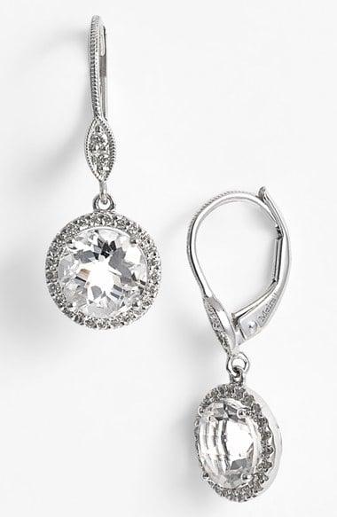 MeiraT Topaz & Diamond Drop Earrings ($898)