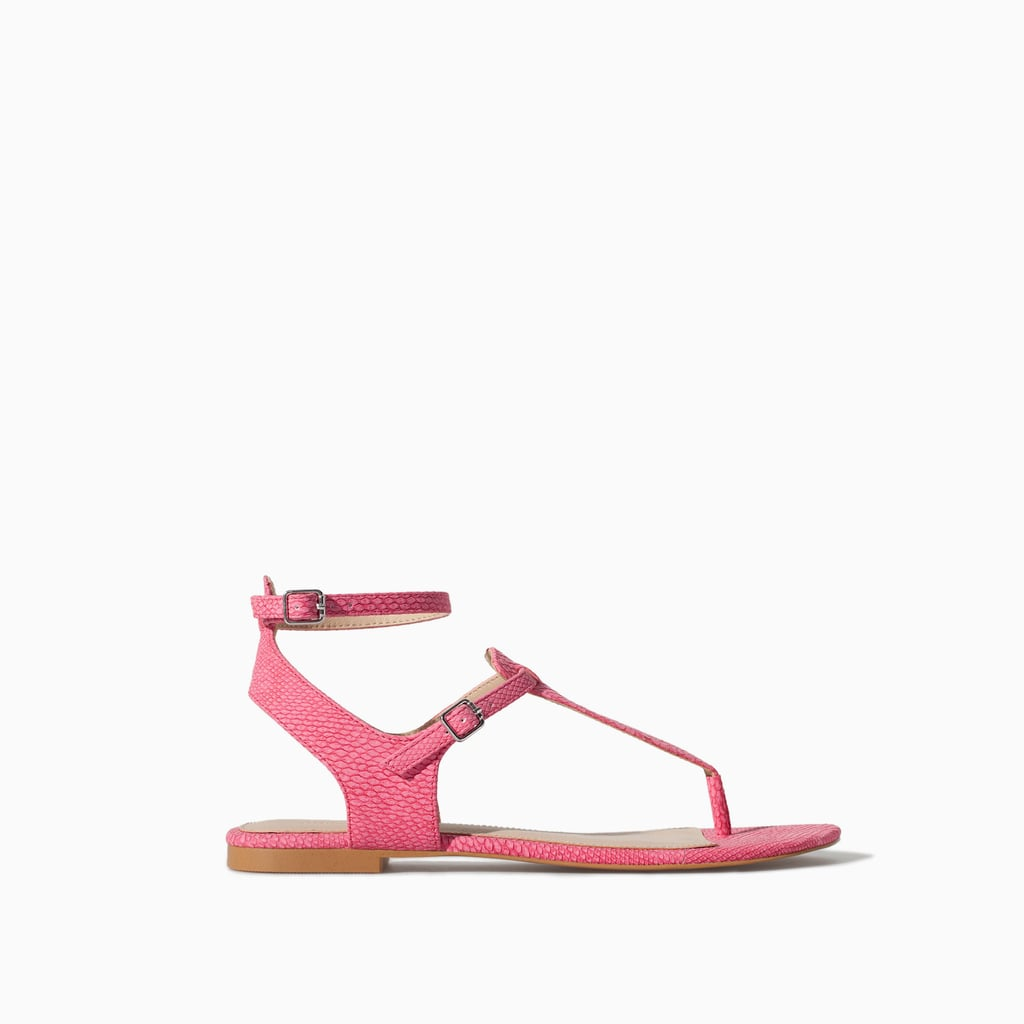 Zara Ankle-Strap Sandals
