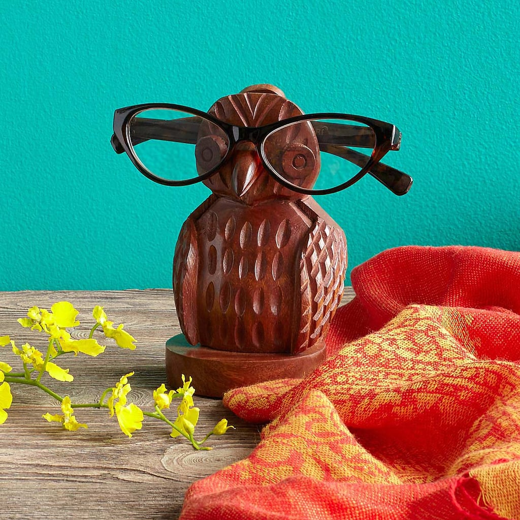 For the Eyeglass-Wearing Granny: Owl Eyeglass Holder