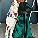 Lena Waithe and Ava DuVernay at the Vanity Fair Oscars Afterparty