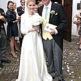 Prince Maximilian of Sayn-Wittgenstein-Berleburg and Franziska Balzer The Bride: Franziska Balzer, an actress. The Groom: Prince Maximilian of Sayn-Wittgenstein-Berleburg, son of Prince Otto Ludwig Sayn-Wittgenstein-Berleburg. When: August 6, 2016 Where: Bad Laasphe, Germany