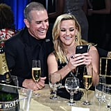 Reese Witherspoon and Jim Toth Critics' Choice Awards 2018