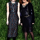 Anna Wintour and Diane von Furstenberg
