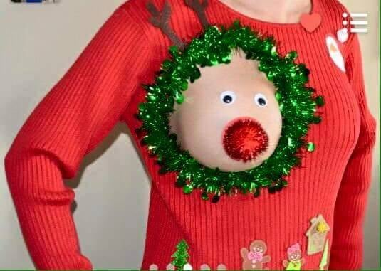 heres the scenario youre invited to your friends annual ugly christmas sweater party and although you normally love getting festive this holiday