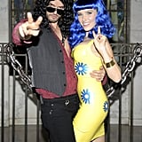 Sophia Bush and Austin Nichols as Katy Perry and Russell Brand