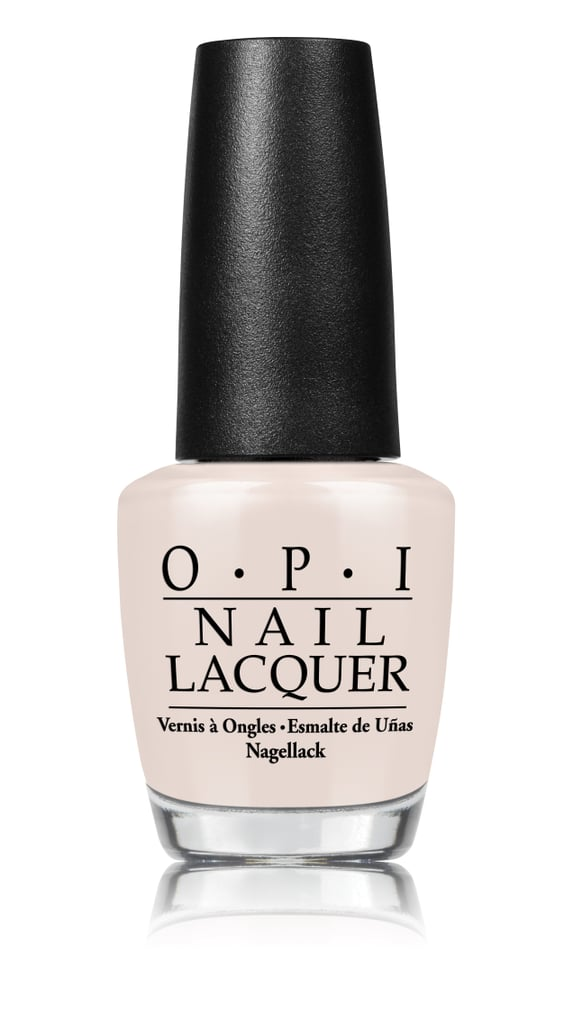 OPI Nail Lacquer in Don't Burst My Bubble, $19.95