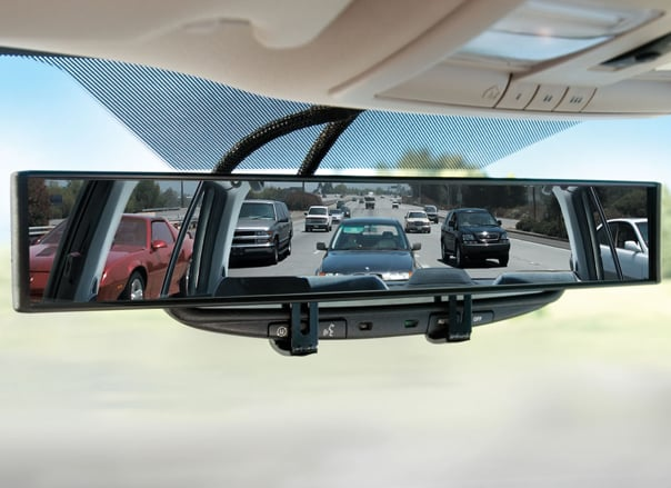 No-Blind-Spot Rearview Mirror
