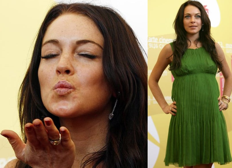 Lindsay Hits Venice