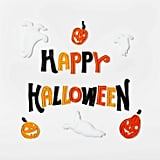 Happy Halloween Window Cling