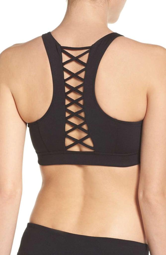 Zella Women's Lace It Up Sports Bra