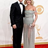 Siblings Julianne Hough and Derek Hough walked the Emmys red carpet together.