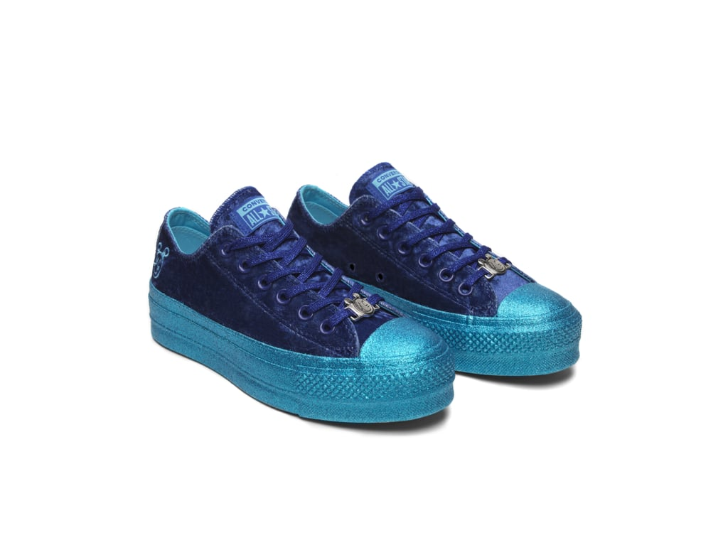 b2ffed043aa3 Converse x Miley Cyrus Chuck Taylor All Star Lift Velvet Low Top ( 75)