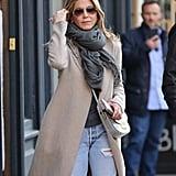 Jennifer Aniston Ripped Boyfriend Jeans