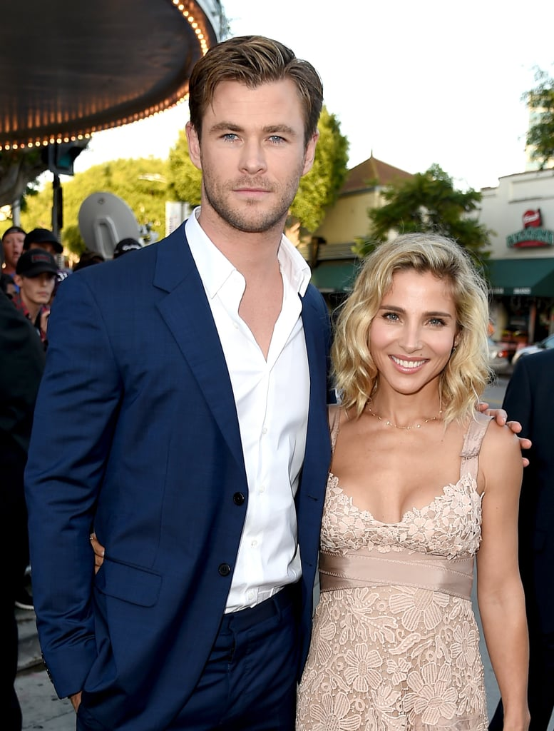 Image result for Chris Hemsworth and Elsa Pataky