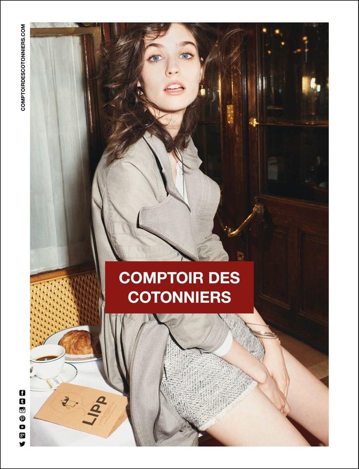 Comptoir des cotonniers spring 2014 spring 2014 ad campaigns pictures popsugar fashion - Instagram comptoir des cotonniers ...
