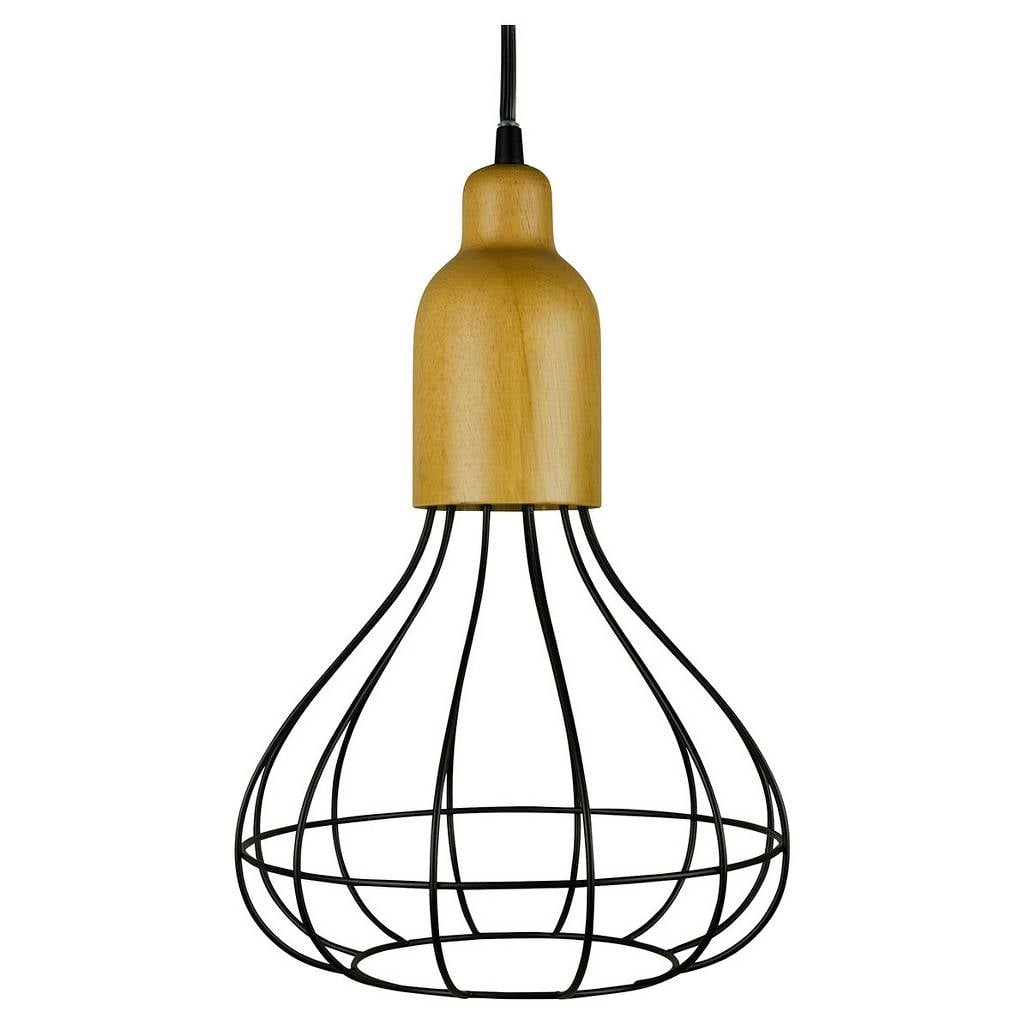 Wire Pendant Light ($40)