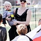 Pictures of Gwen, Gavin, Zuma, King