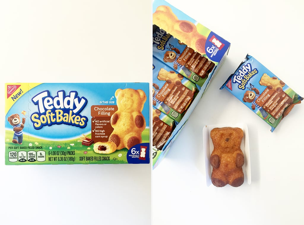Teddy Soft Bakes With Chocolate Filling