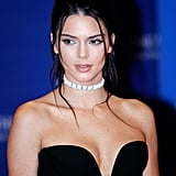 Kendall Jenner opted for this dazzling choker necklace at the 102nd White House Correspondents' Association Dinner, proving that chokers can be paired with more than just casual attire.