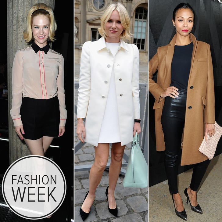 A Slew of Stylish Stars Close Out Paris Fashion Week