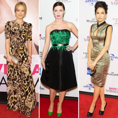 Celebrities at Five-Year Engagement NYC Premiere 2012