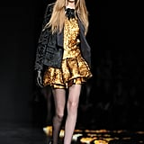 Review and Pictures of Roberto Cavalli Autumn Winter 2012 Milan Fashion Week Runway Show