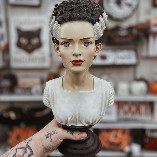See Michaels Bride of Frankenstein Bust Decoration