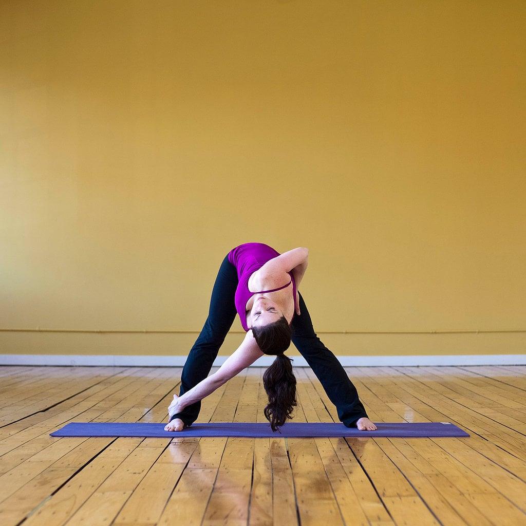 Wide-Legged Forward Bend Twist