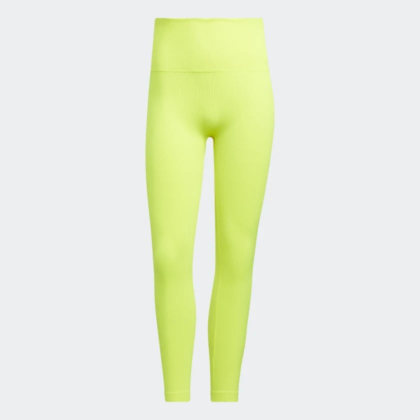 Formotion Sculpt Tights in Acid Yellow