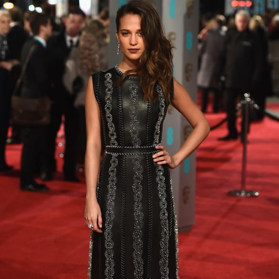Alicia Vikander's Louis Vuitton Gown at BAFTA Awards 2016