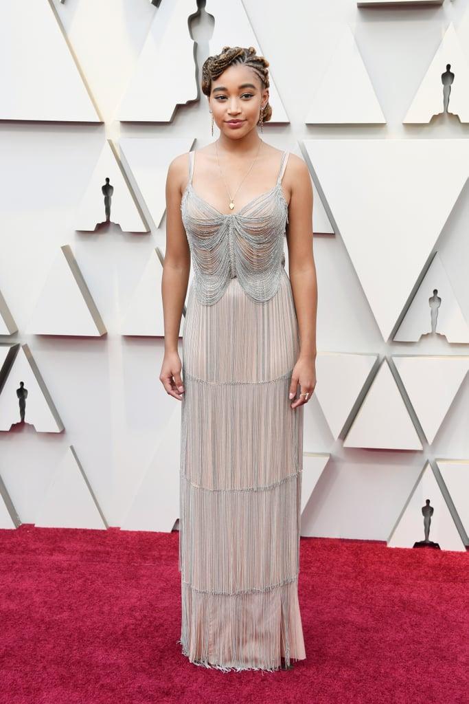 Amandla Stenberg at the 2019 Oscars