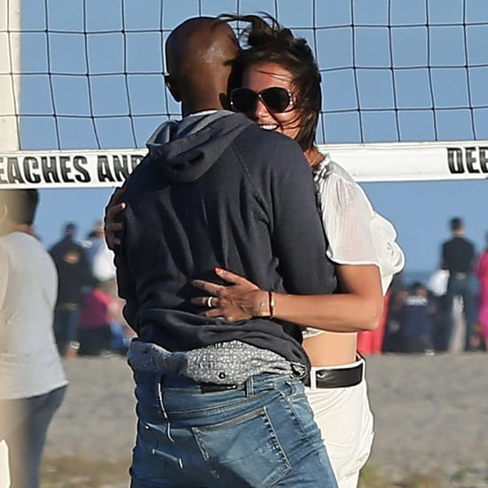 Jamie Foxx and Katie Holmes on the Beach in LA August 2018
