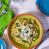 Elotes Salad With Poblano Peppers