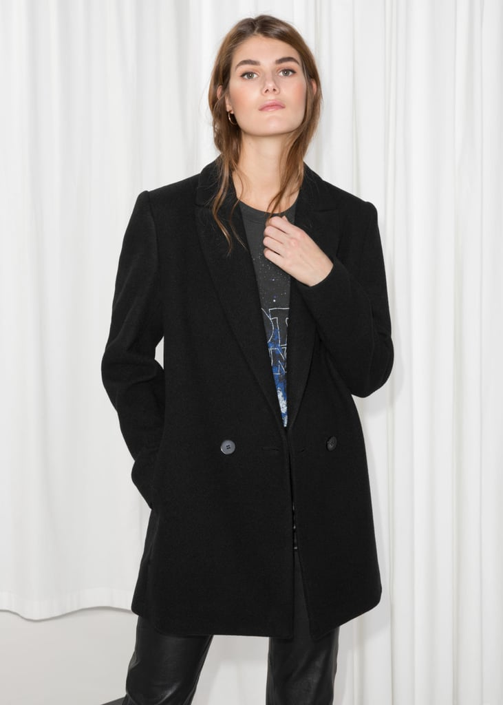 & Other Stories Double-Breasted Blazer