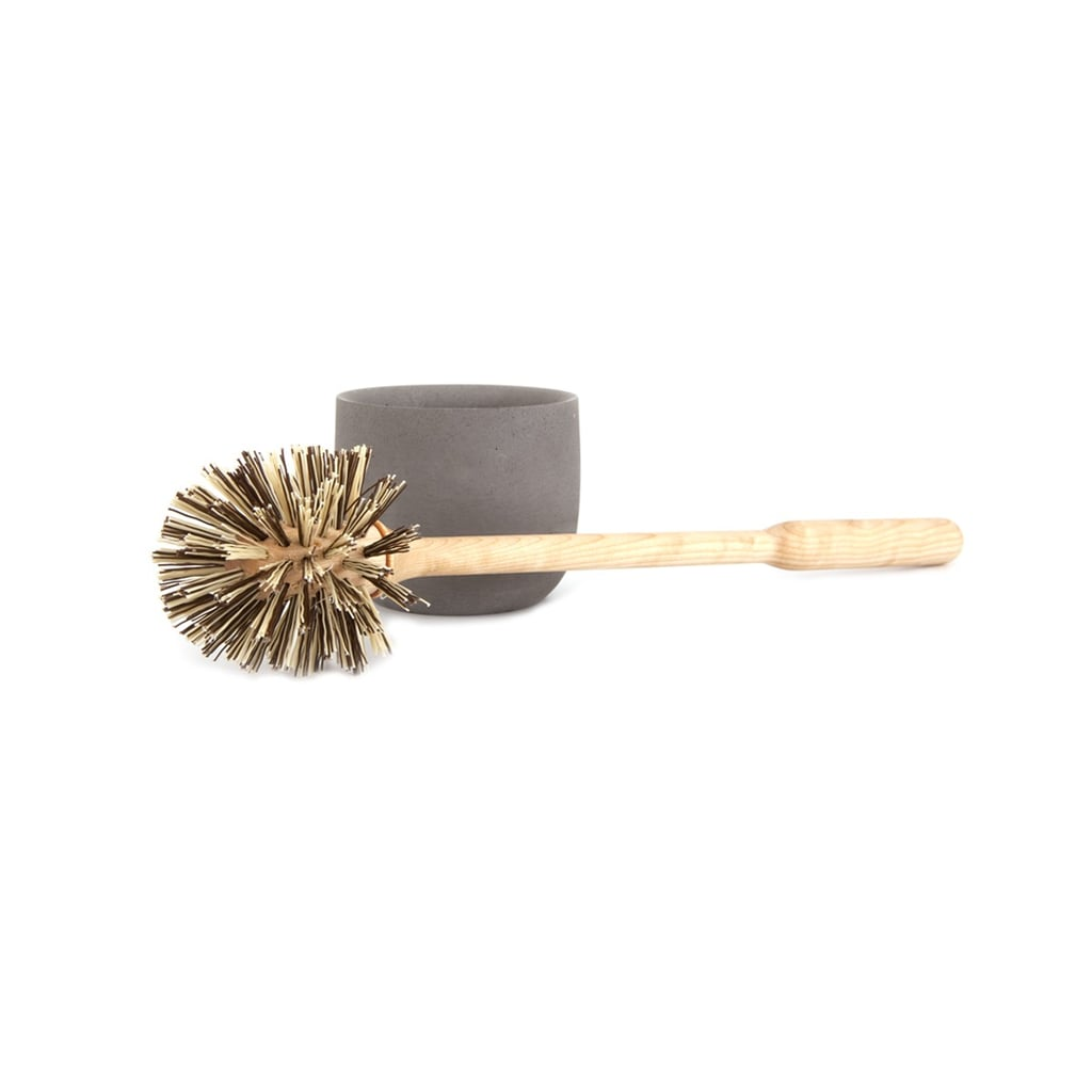 This concrete toilet brush set ($90) proves that even the most unpleasant of cleaning tasks can be aesthetically improved.