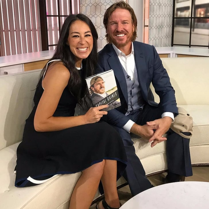 joanna congratulates chip on capital gaines book release popsugar home. Black Bedroom Furniture Sets. Home Design Ideas