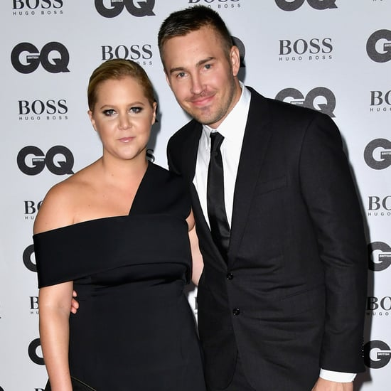 Amy Schumer and Ben Hanisch at GQ Men of the Year 2016