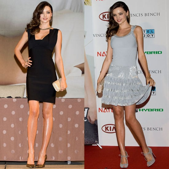 Pictures of Miranda Kerr in Seoul South Korea for Kia Wearing Roland Mouret and Azzedine Alaia Dresses 2011-06-01 19:33:32