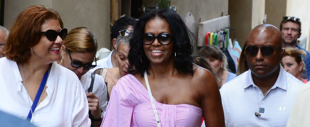 Don't Stare at Michelle Obama's Vacation Top For Too Long — You'll End Up Buying It