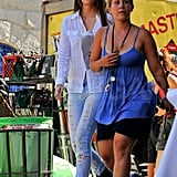 Photos of Mischa Barton on Set